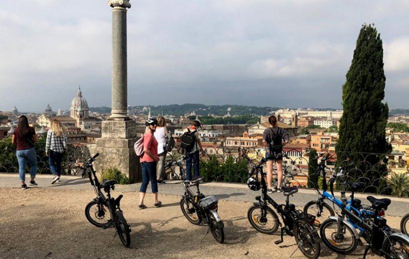 Découverte des joyaux de Rome en E-bike