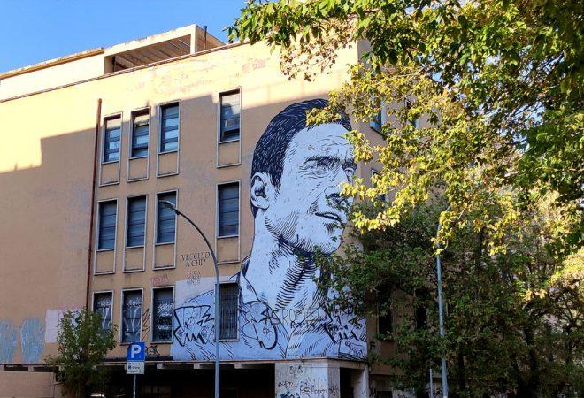 murale Totti