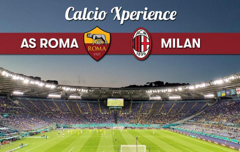 AS Roma / Milan le 31/10/21 - Calcio Xperience